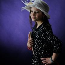 Portrait photographique de Sophie