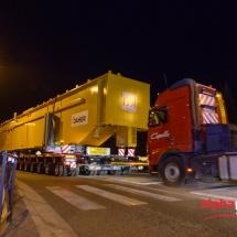 Photos du 8ème Convois ITER en transit à Lambesc