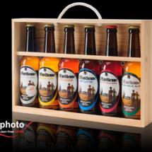 Packshot produit en studio, bouteille de bière, photographe Jean-Yves Liens, Salon de Provence
