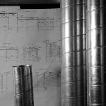 Construction de la nouvelle usine Rampal-Latour, Salon de Provence