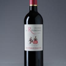 Packshot produit d'une bouteille de vin sur fond gris dégradé. Photo destiné aux site e-commerce et à la communication des entreprises, photographe Jean-Yves Liens, Marseille
