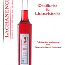 packshot produit Lachanenche, fabrication artisanale de liqueurs